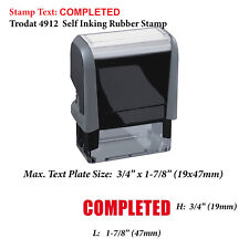 Trodat 4914 Self-inking Stamp Replacement Pad Black