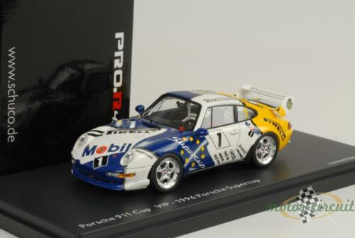 1996 Porsche 911 993 Cup 3.8 vip car Porsche Supercup 1:43 Schuco pro.r43
