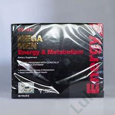 GNC Mega Men Energy and Metabolism Capsules 30 Count