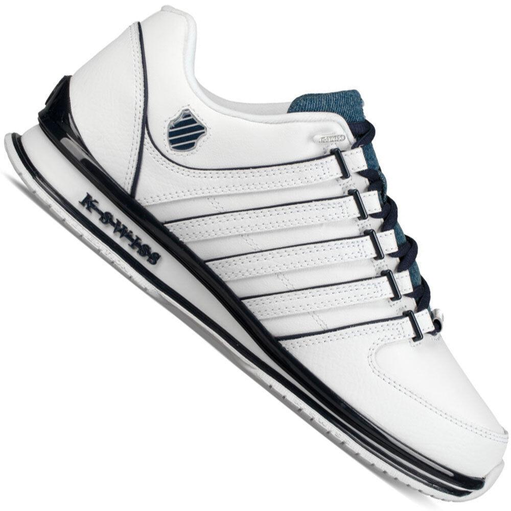 K-Swiss Rinzler SP Herren-Sneaker Freizeitschuhe Turnschuhe Leder Schuhe