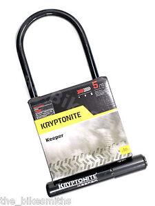 kryptonite keeper 12 ls long hardened steel u lock 11 x 4 bike w mount bicycle ebay. Black Bedroom Furniture Sets. Home Design Ideas