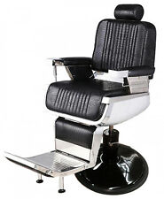 Professional Reclining Crocodile Barber Chair Antique Classic Vintage Alligator