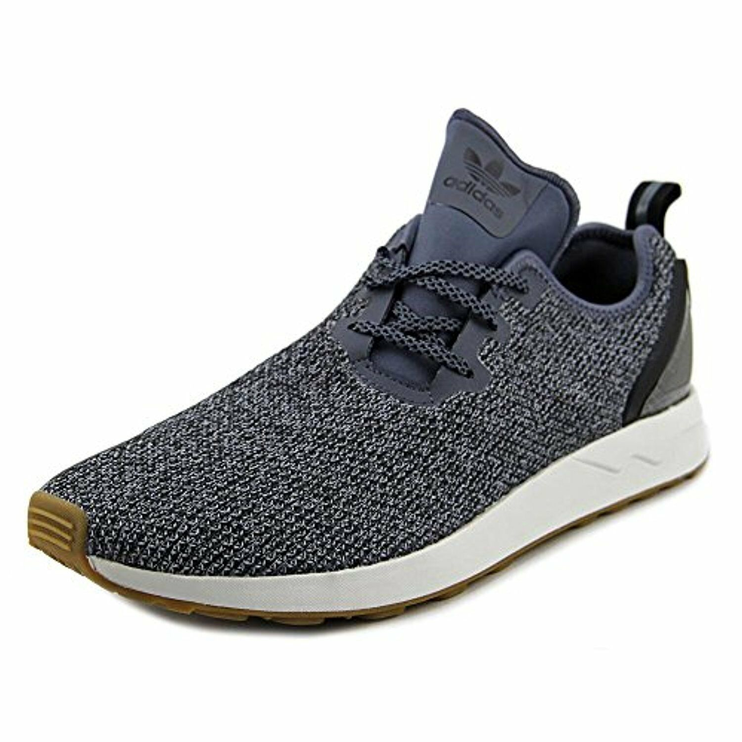 adidas ZX Flux Black/Crystal ADV Asymmetrical Shoes, Onix/Core Black/Crystal Flux White (BB3705) c14a4a