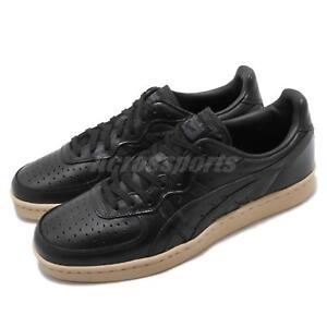 Asics-Onitsuka-Tiger-GSM-noir-Hommes-en-cuir-Chaussures-de-Loisirs-Baskets-D7H1L-9090