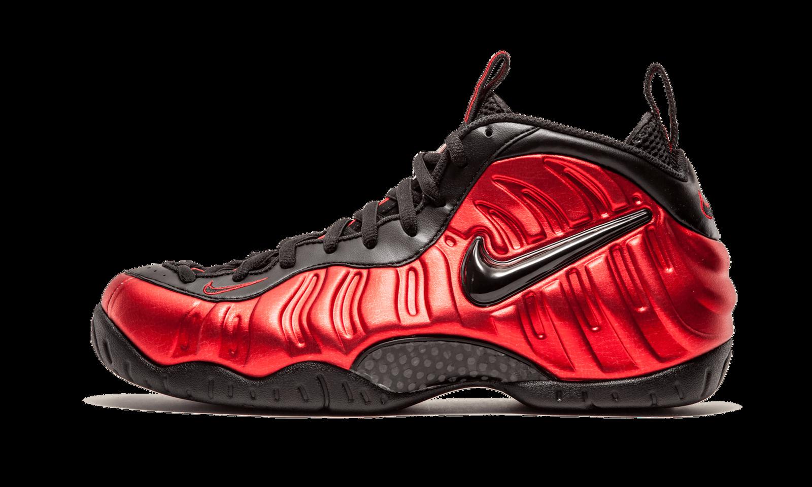 Nike Air Foamposite Pro METALLIC UNIVERSITY 624041-604 rouge  Noir OG 624041-604 UNIVERSITY sz 17 c3a09b