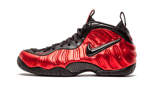 b3a687ef68b Nike Air Foamposite Pro METALLIC UNIVERSITY RED BLACK OG 624041-604 ...