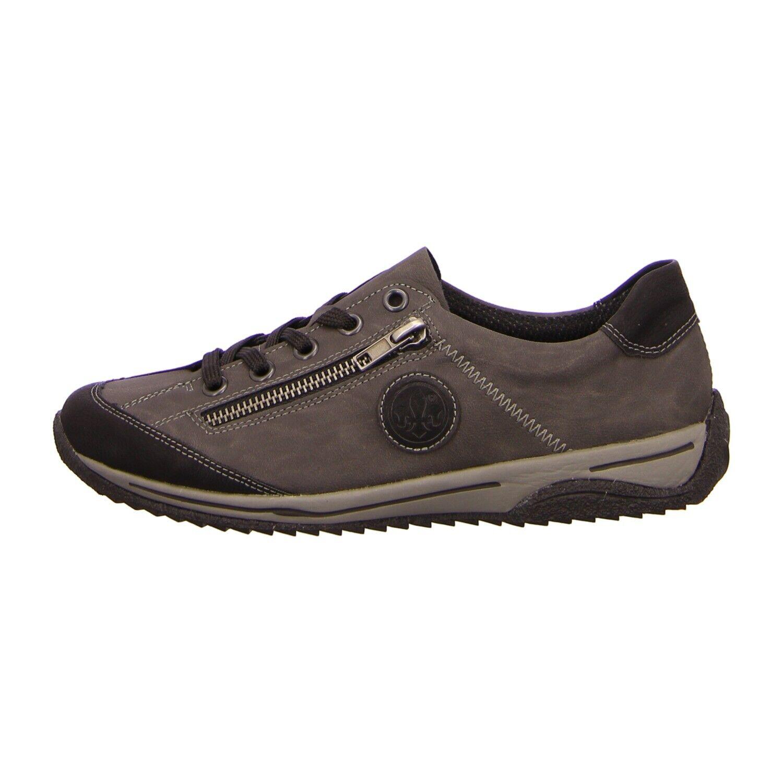 Rieker Schuhe Schnürschuh L5224-00 grau kombi (grau) NEU