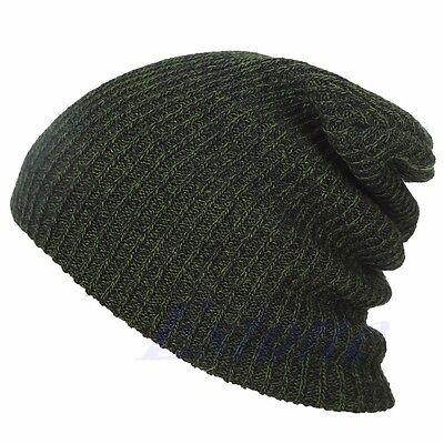 Chic Knit Men's Women's Baggy Beanie Oversize Winter Hat Ski Slouchy Cap Skull