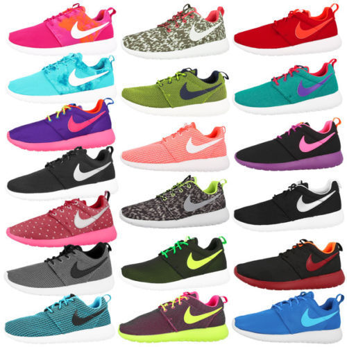 Nike Rosherun Femmes Chaussures Baskets de Course Gs Roshe Run Fb Free 5.0 4.0