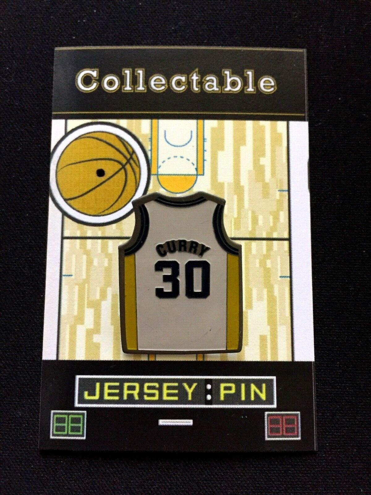 Golden Golden Golden State Warriors Stephen Curry Revers Pin-Dub Nation Klassisches 0a3374