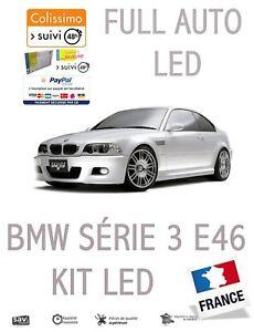 FULL-KIT-10-LED-INTERIEUR-BMW-SERIE-3-E46-ANTI-ERREUR-OBD-BLANC-PUR