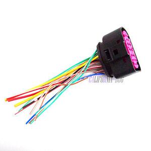 14Pin-Headlight-Xenon-Lamp-Plug-Connector-1J0973737-For-VW-Golf-MK6-Skoda