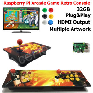 Details about Arcade Game Retro Console Wooden Artwork Panel Raspberry Pi
