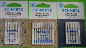 5 JEANS MACCHINE PER CUCIRE Aghi forza 110-Schmetz