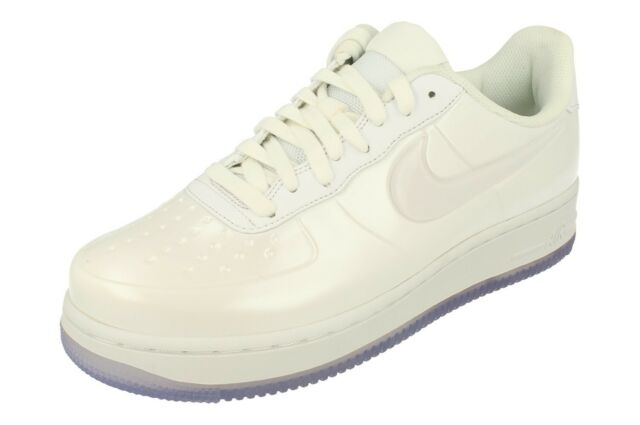 a962f9f8fd0a0 Nike Af1 Foamposite Pro Cup Triple White Air Force One Aj3664-100 ...