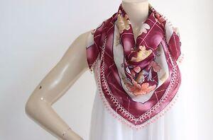 Rose-Cotton-Scarf-Turkish-Scarf-Square-Scarf-Beaded-Handmade-scarf-Pastel-Scarf