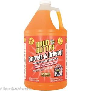 1 gal krud kutter pressure washer concentrate concrete for Cement driveway cleaner