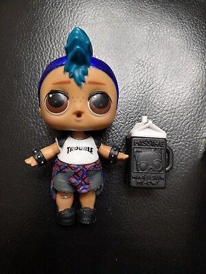 ULTRA Rare LOL Surprise Dolls Series 3 Confetti Pop Color Change Punk Boi Gift