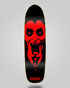 Monopatín skate skateboard pool deck 8.5 Glutier Castle king
