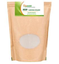 MSM natürlicher Schwefel - 1 kg Pulver (19,90 €/Kg)