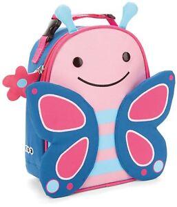 Sensible Skip Hop Zoo Lunchie Sac-repas Isotherme-papillon Kids Lunch Bags Bn-afficher Le Titre D'origine