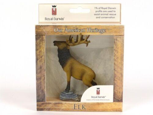 Wildlife Figurine By Royal Darwin Elk Collectible Animal Figure 104