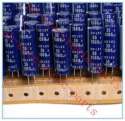 10PCS 1500UF 16V NCC RADIAL ELECTROLYTIC CAPACITORS.12.5X20MM.LXZ.