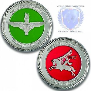 Details about Army Challenge Silver Coin Medal - 3 Para Challenge Coin