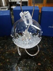 SWAROVSKI CHRISTMAS ORNAMENT BALL 2013 ANNUAL ED. MIB ...