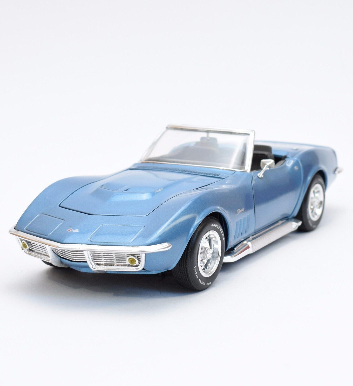 ahorra hasta un 80% Revell Revell Revell 8819 Corvette converdeible 69 auto deportivo en azul lacado, 1 18, embalaje original, k031  alta calidad