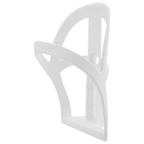 Velocity Bottle Trap Resin Water Bottle Cage WHITE Road Mountain Hybrid Bike