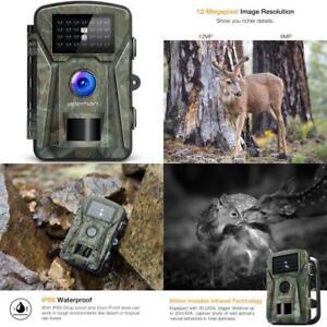 12MP-Garden-Wildlife-Camera-Full-HD-Digital-Surveillance-Night-Vision-Waterproof