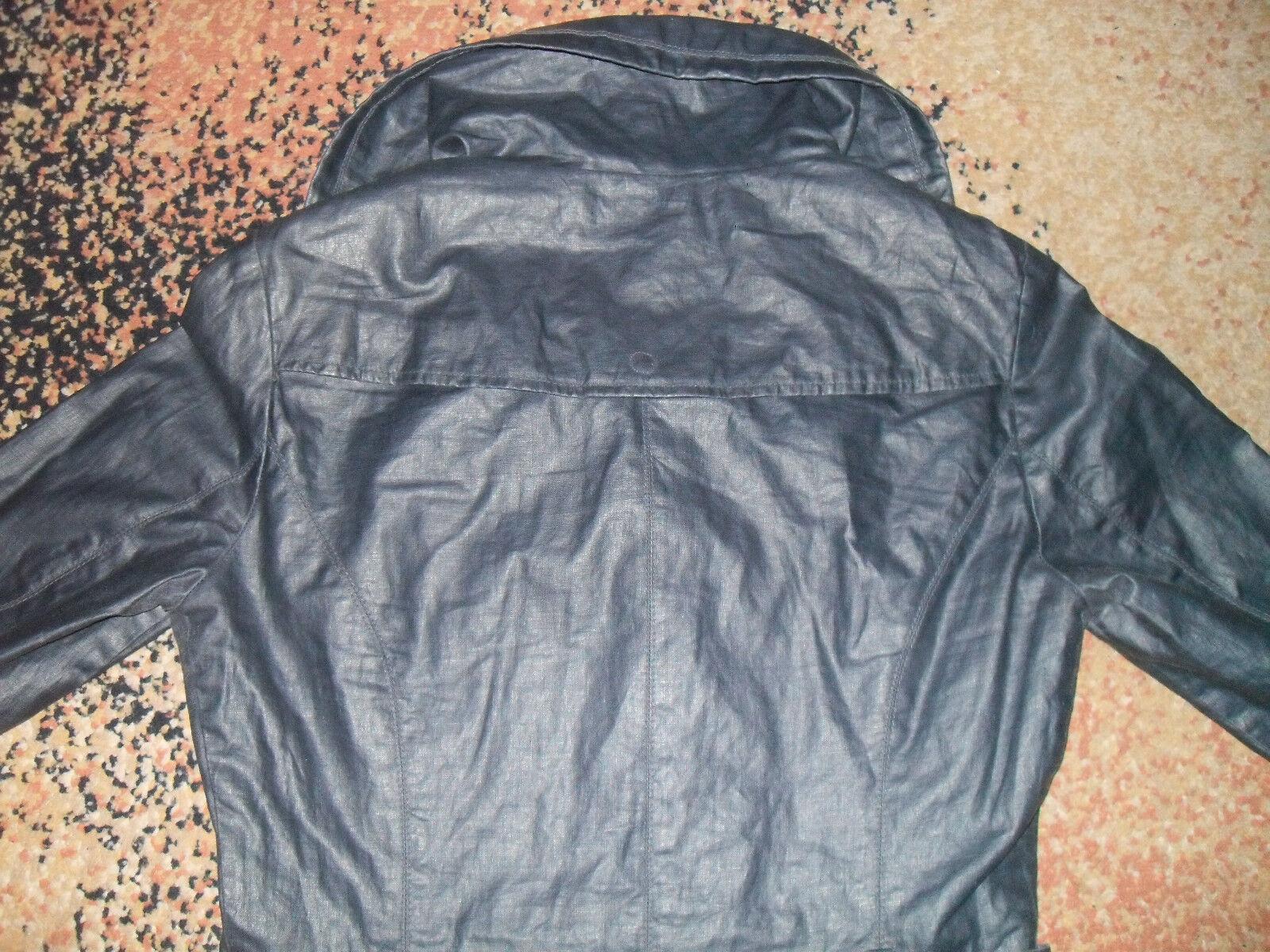 Damen Damen Damen Mantel von Mexx   Gr. 34   blau   Leinen   sehr guter Zustand | Qualität Produkt  | Angenehmes Gefühl  | Züchtungen Eingeführt Werden Eine Nach Der Anderen  32dfa9