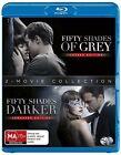 Fifty Shades Of Grey / Fifty Shades Darker (Blu-ray, 2017, 2-Disc Set)
