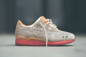 the best attitude 7fe6b 31fed Details about Packer x Asics Gel Lyte III 3 sz 9.5 New Dirty Buck Special  Box + Extras