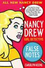 Nancy Drew: False Notes by Carolyn Keene (Paperback, 2005)