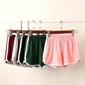 Women-Ladies-Plain-Beach-Summer-Shorts-Pants-Sports-Running-Gym-Yoga-Hot-Pants