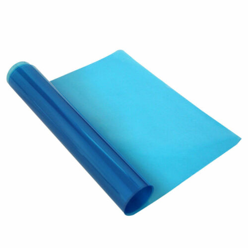 Miroir de salle de bain Film de Protection clair anti-brouillard film bleu de protection Soft Film