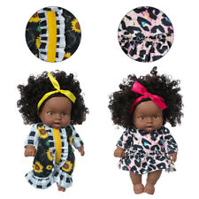 Doll African Dress up Accessories DIY Toys for Kids Bebe Reborn Baby 25cm