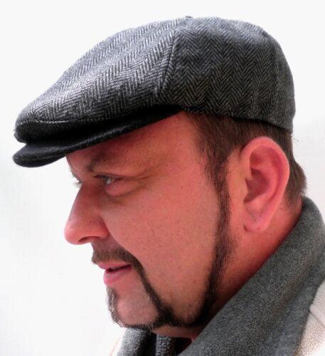 Uomo Berretto Gatsby fischgräd SARACINESCA BERRETTO Mazza BERRETTO flatcaptrendmütze