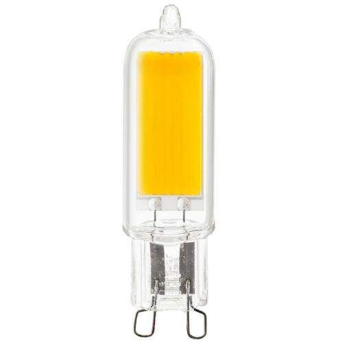 400 Lumen 5000K Super White 3W 40W Equal Sunlite LED G9 Base Bulbs