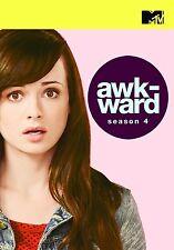 MTV'S AWKWARD  - COMPLETE SEASON 4  - DVD - UK Compatible