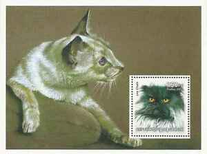 Timbre-Chats-Guinee-annee-2002-lot-2492