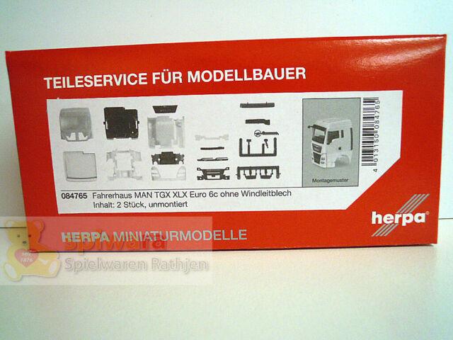 Herpa 084772  Fahrerhaus MAN TGX XL Euro 6c ohne  WLB 1:87 H0 NEU in OVP
