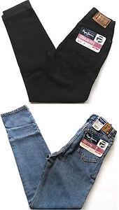 PEPE-Jeans-Girls-Regular-Fit-Betty-Stone-Wash-Black-Sizes-W-8-26-034-9-27-034