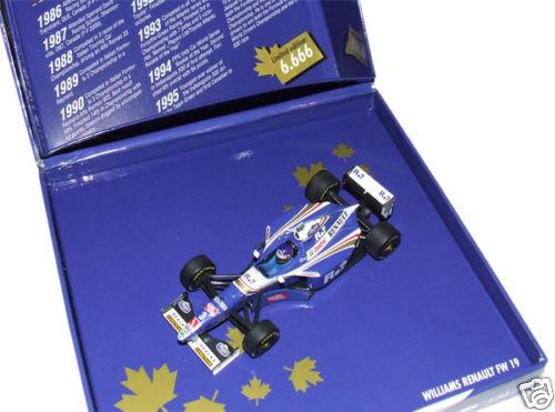 1 43 minichamps 1997 WILLIAMS RENAULT FW 19 Villeneuve