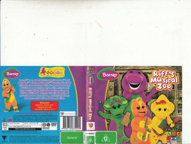Barney-Riff's Musical Zoo-2008-[79 Minutes]-Children Barney-DVD