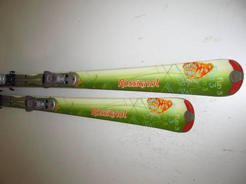 Aktionspreis  Ski Carvingski Rossignol Fun 3 mit Bindung, 162cm (DD140)