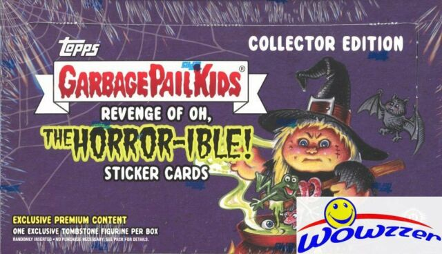 The Horror-ible TOPPS GARBAGE PAIL KIDS FACTORY SEALED HOBBY BOX 2018