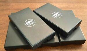 Lot de 5 boîtes cartonnées neuves pour médaille Monnaie de Paris